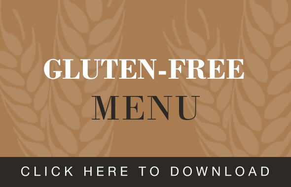 The Hospital Inn Gluten Free Menu