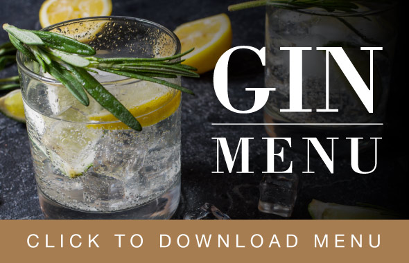 The Hospital Inn Gin Menu