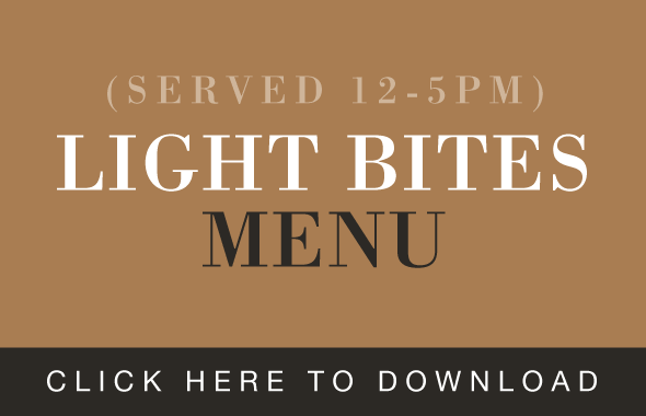 The Hospital Inn Light Bites Menu