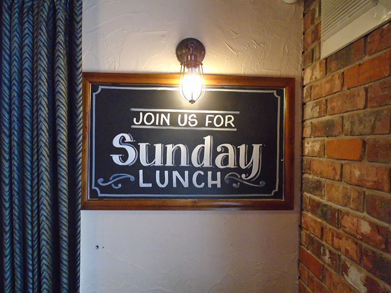 Sunday Lunch in Bamber Bridge