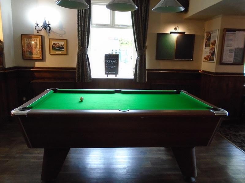 The Hospital Inn Pool Table