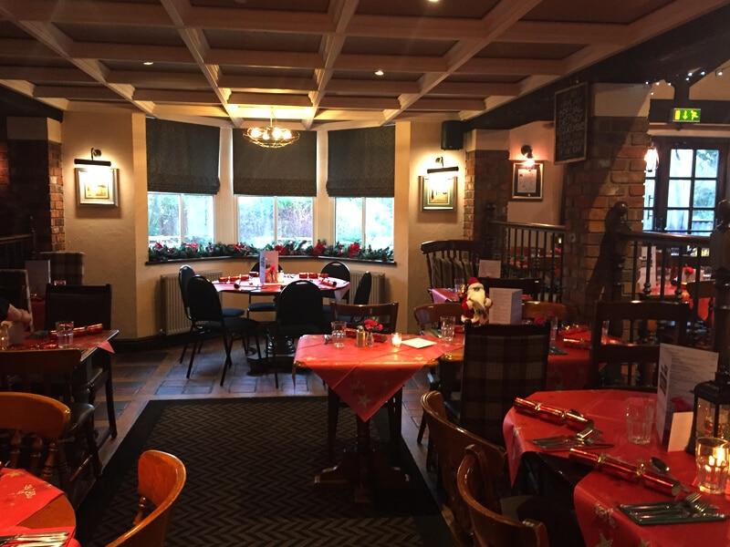 The Hospital Inn Pub Bar at Christmas